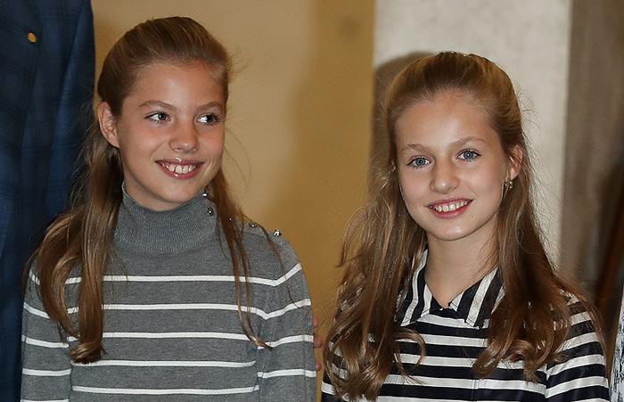 La princesa Leonor y la infanta Sofía, en los premios Princesa de Girona