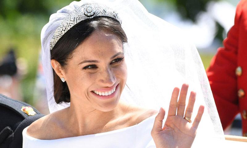 la curiosa an 233 cdota de meghan markle con el maquillador de su boda