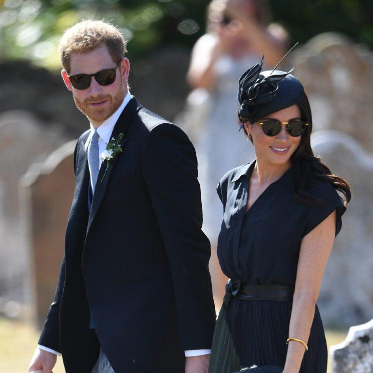 Meghan Markle Y El Príncipe Harry, Juntos En La Boda De