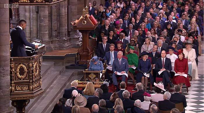 Adiós a los cuatro fantásticos, los duques de Cambridge y los de Sussex, juntos por última vez en un acto