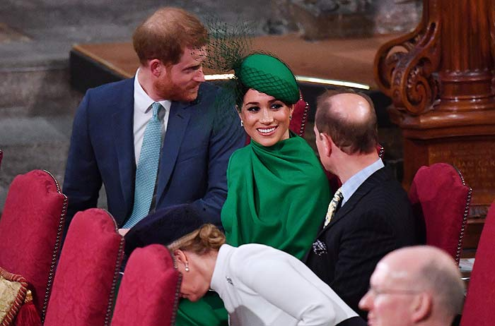 El encuentro que casi no fue: así ha sido el último acto juntos de los duques de Cambridge y los de Sussex