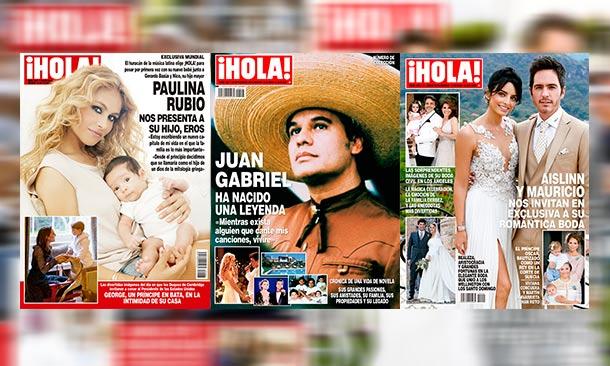 Recuerda todas las portadas de ¡HOLA! en el 2016