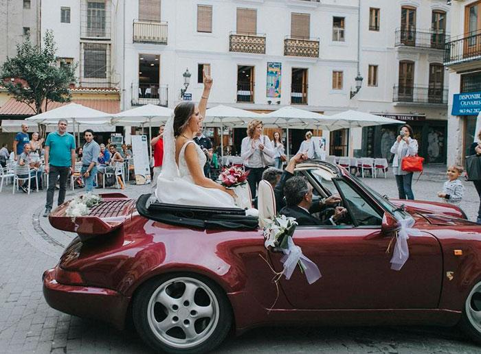Salvador y María se dan el sí en Valencia