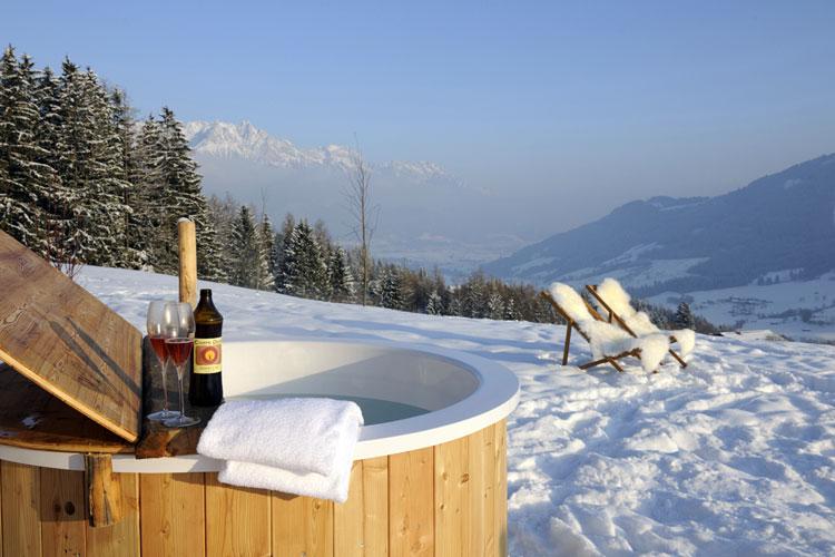 Y despu s de las fiestas vacaciones de invierno en una caba a con los alpes a los pies - Cabana invierno ...