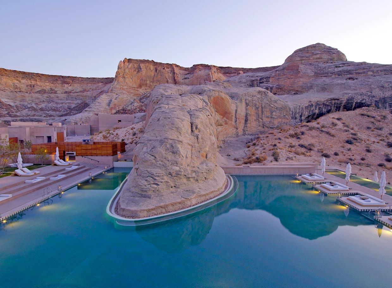 Las piscinas m s espectaculares del mundo para recibir el for Piscinas espectaculares