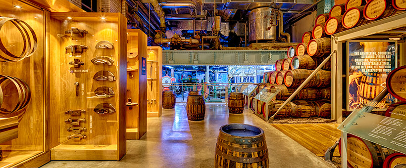 Guinness-Storehouse-Cooperage-Interior